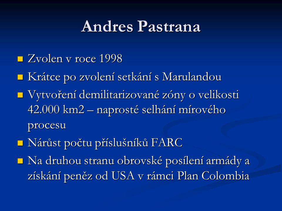 Andres Pastrana Zvolen v roce 1998