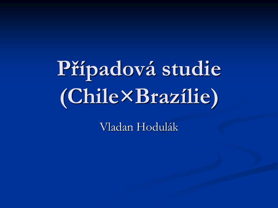 Případová studie (Chile×Brazílie)