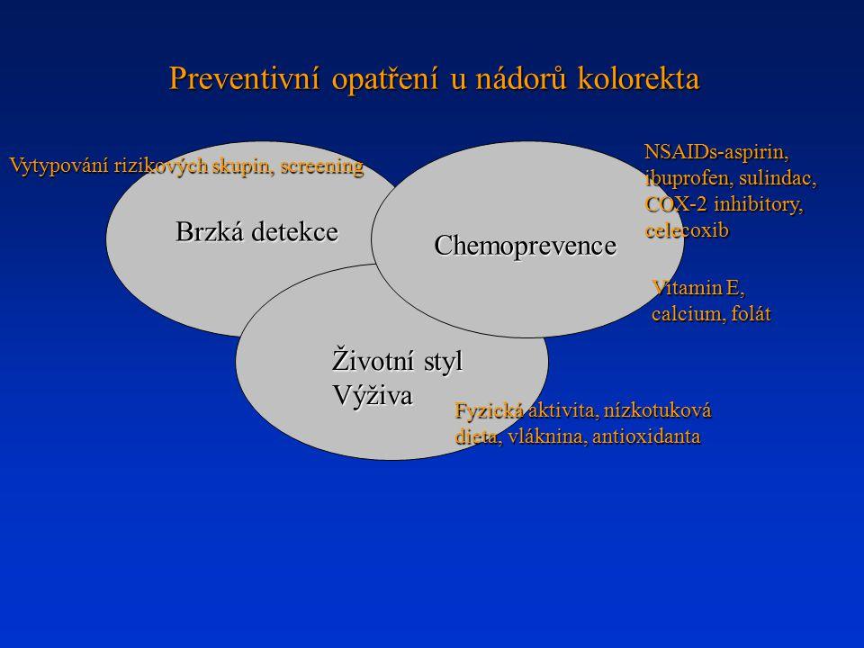 Preventivní opatření u nádorů kolorekta