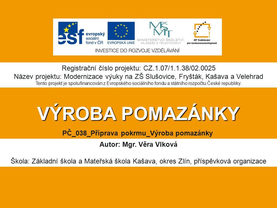 PČ_038_Příprava pokrmu_Výroba pomazánky