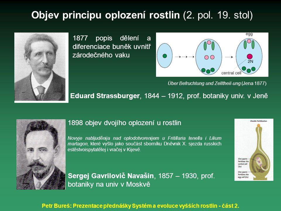Objev principu oplození rostlin (2. pol. 19. stol)