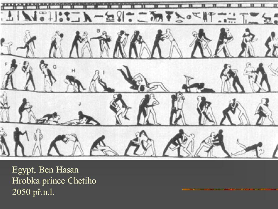 Egypt, Ben Hasan Hrobka prince Chetiho 2050 př.n.l.