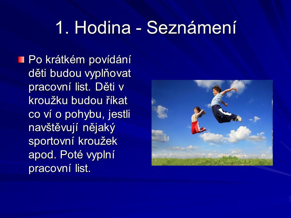1. Hodina - Seznámení