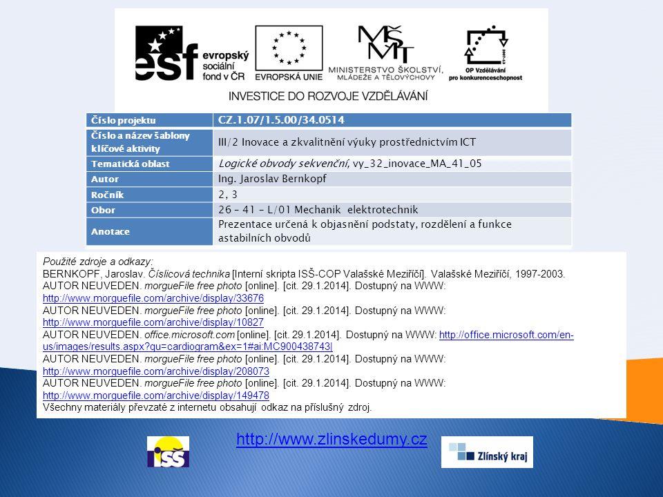 http://www.zlinskedumy.cz CZ.1.07/1.5.00/34.0514