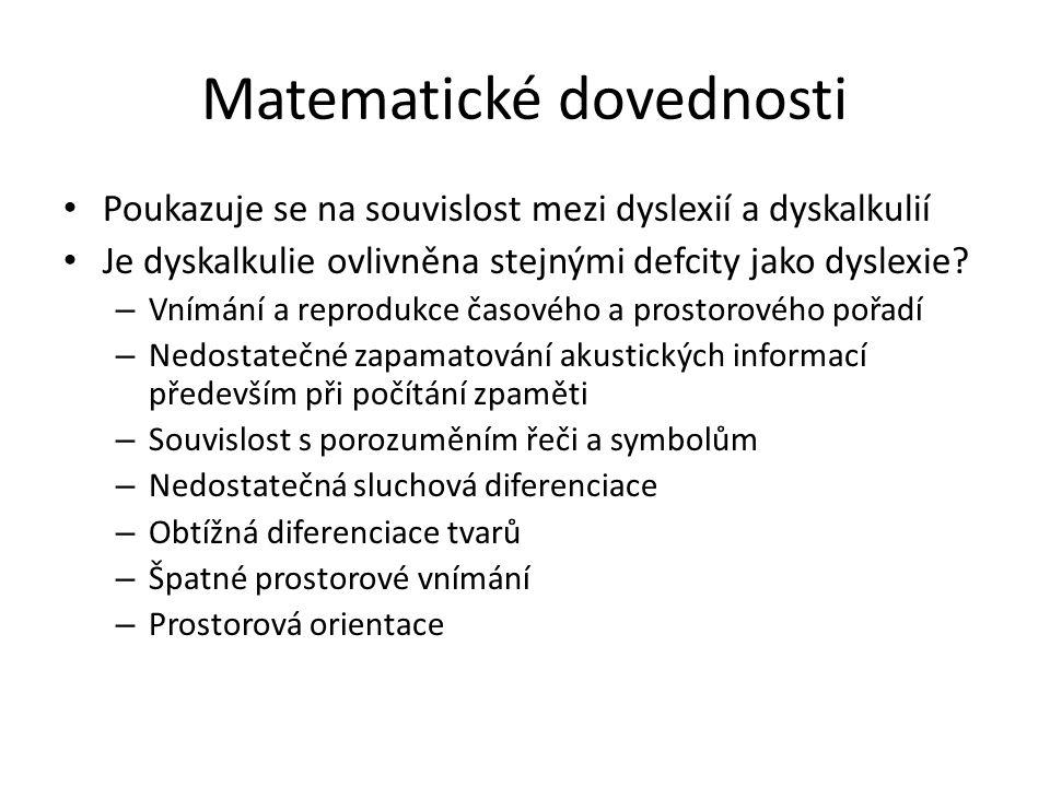 Matematické dovednosti