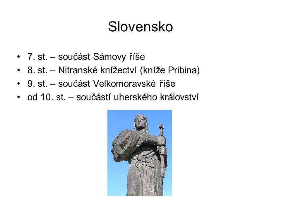Slovensko 7. st. – součást Sámovy říše