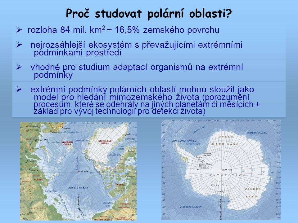 Proč studovat polární oblasti