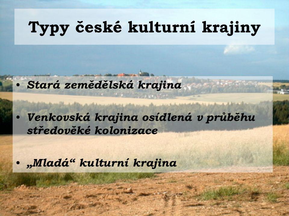 Typy české kulturní krajiny