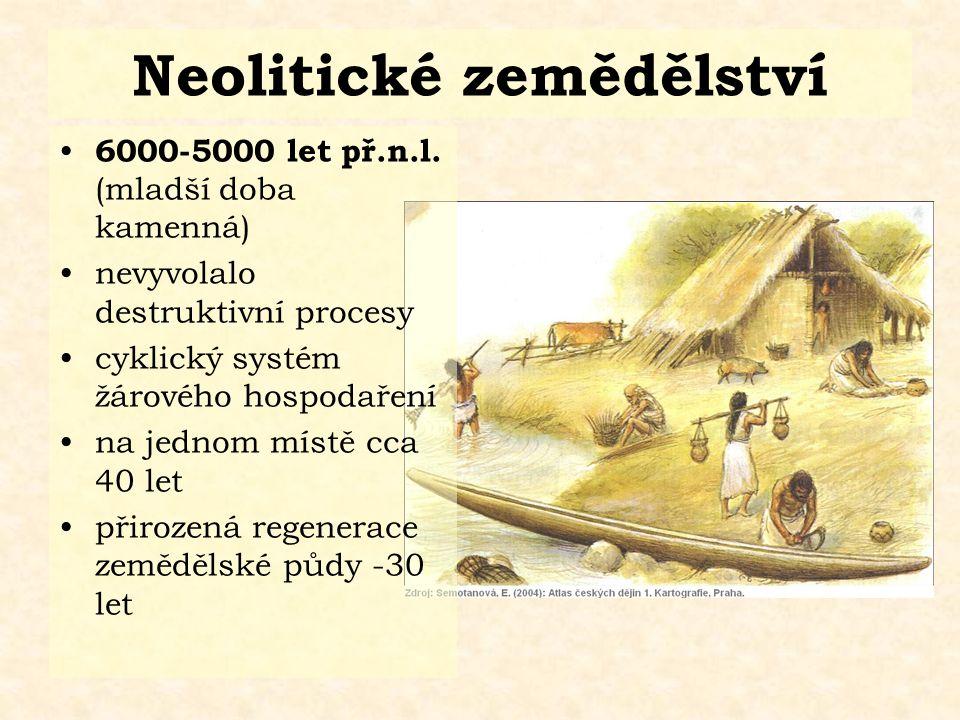 Neolitické zemědělství