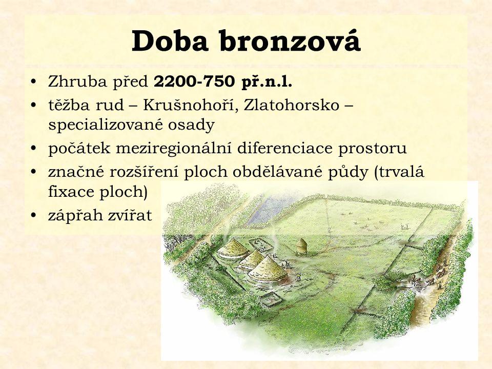 Doba bronzová Zhruba před 2200-750 př.n.l.