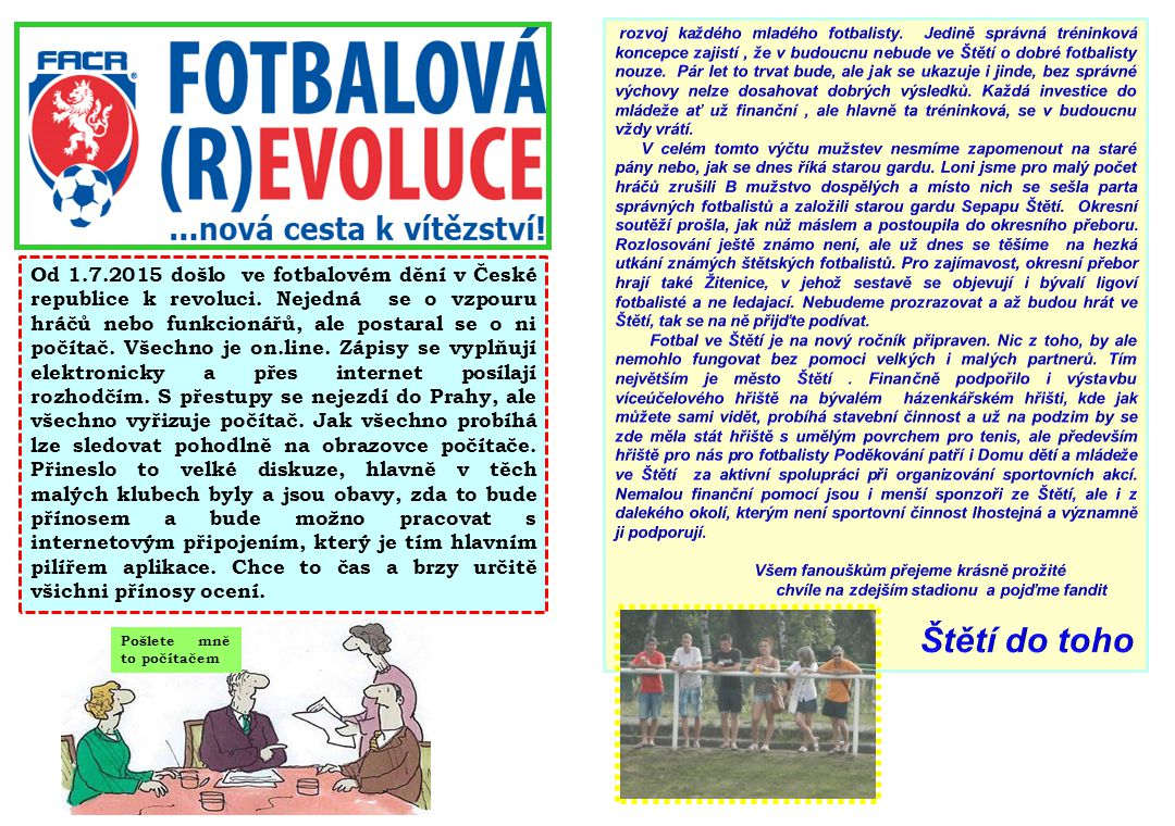 rozvoj každého mladého fotbalisty