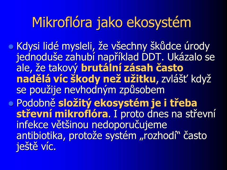 Mikroflóra jako ekosystém