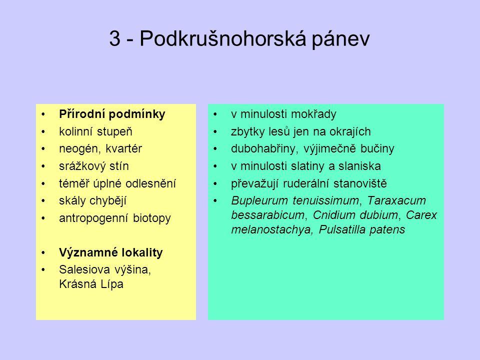 3 - Podkrušnohorská pánev