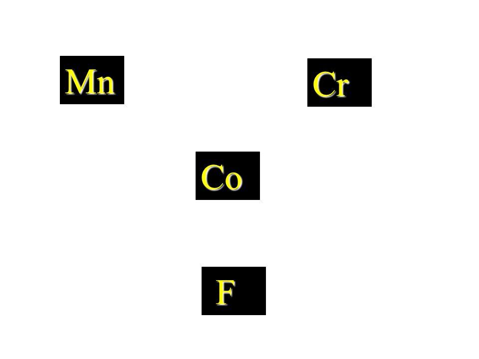 Mn Cr Co F