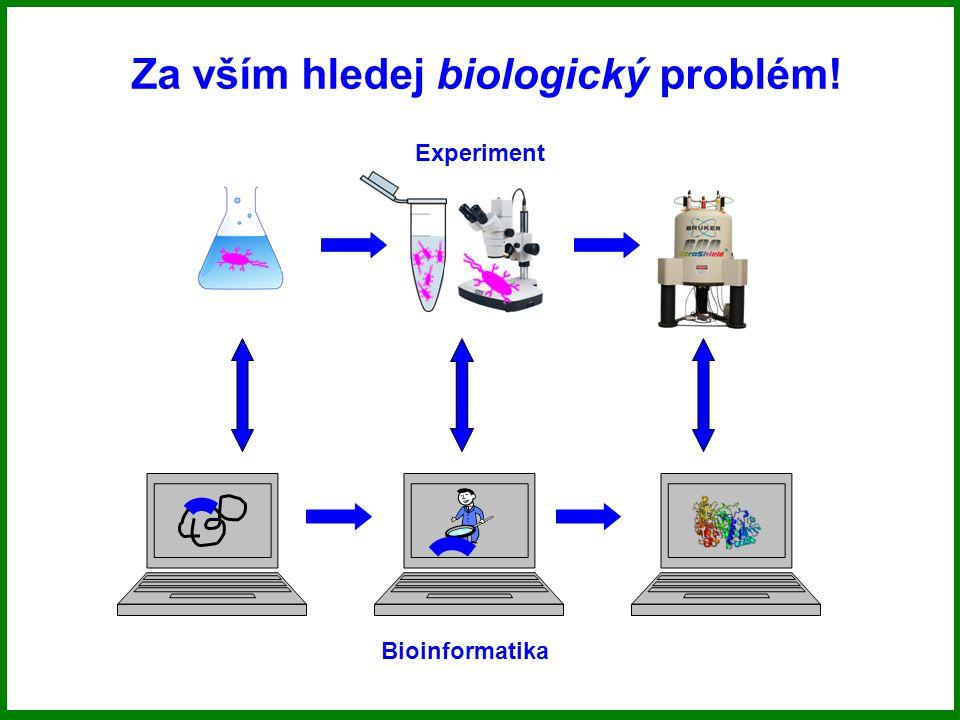 Za vším hledej biologický problém!