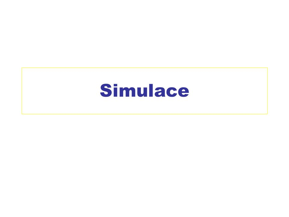 Simulace
