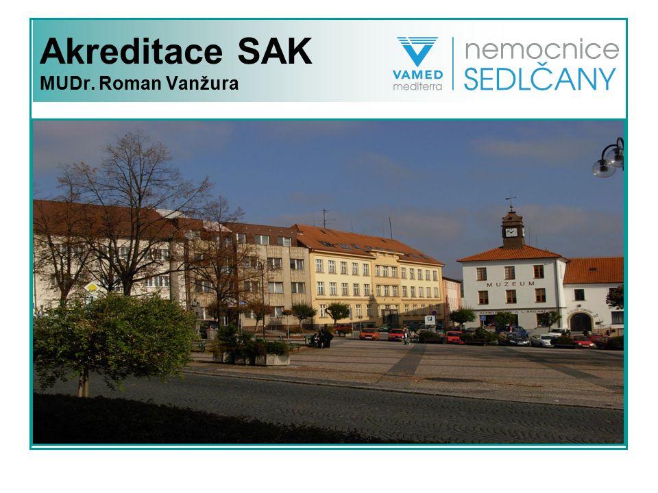 Akreditace SAK MUDr. Roman Vanžura