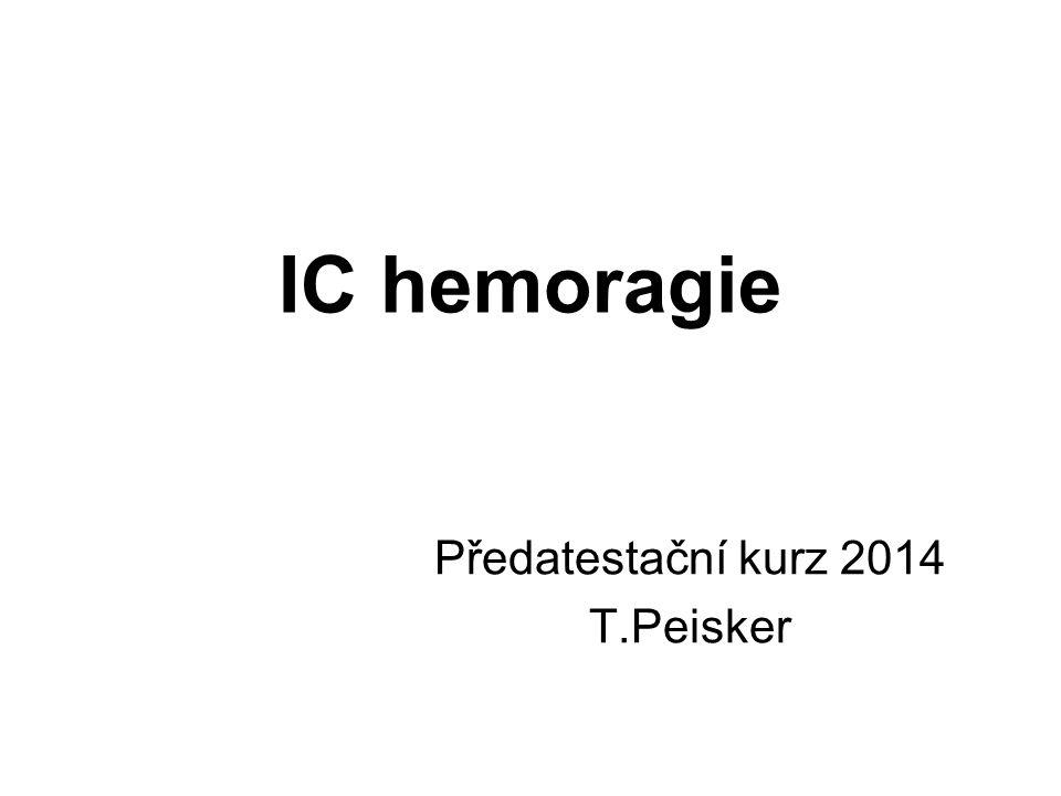 Předatestační kurz 2014 T.Peisker