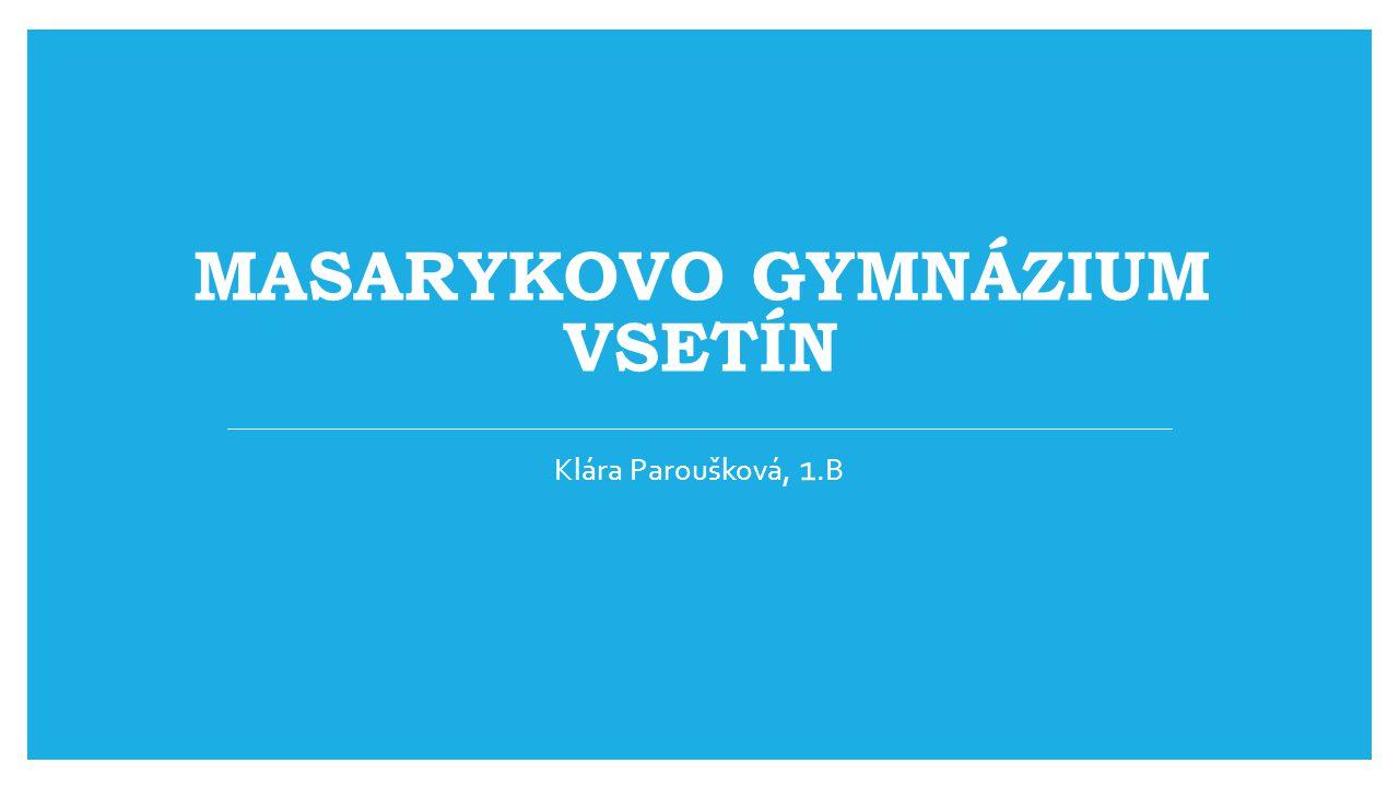 Masarykovo gymnázium Vsetín