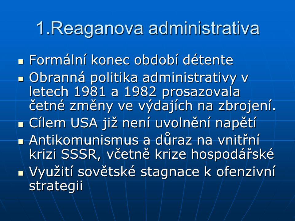 1.Reaganova administrativa