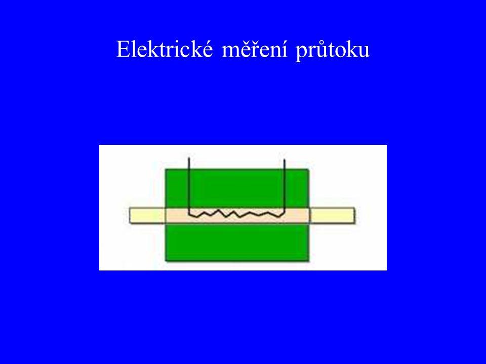 Elektrické měření průtoku