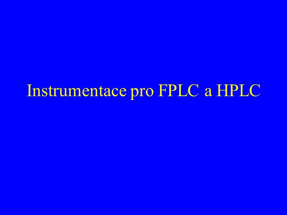 Instrumentace pro FPLC a HPLC