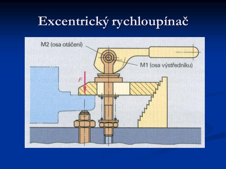 Excentrický rychloupínač