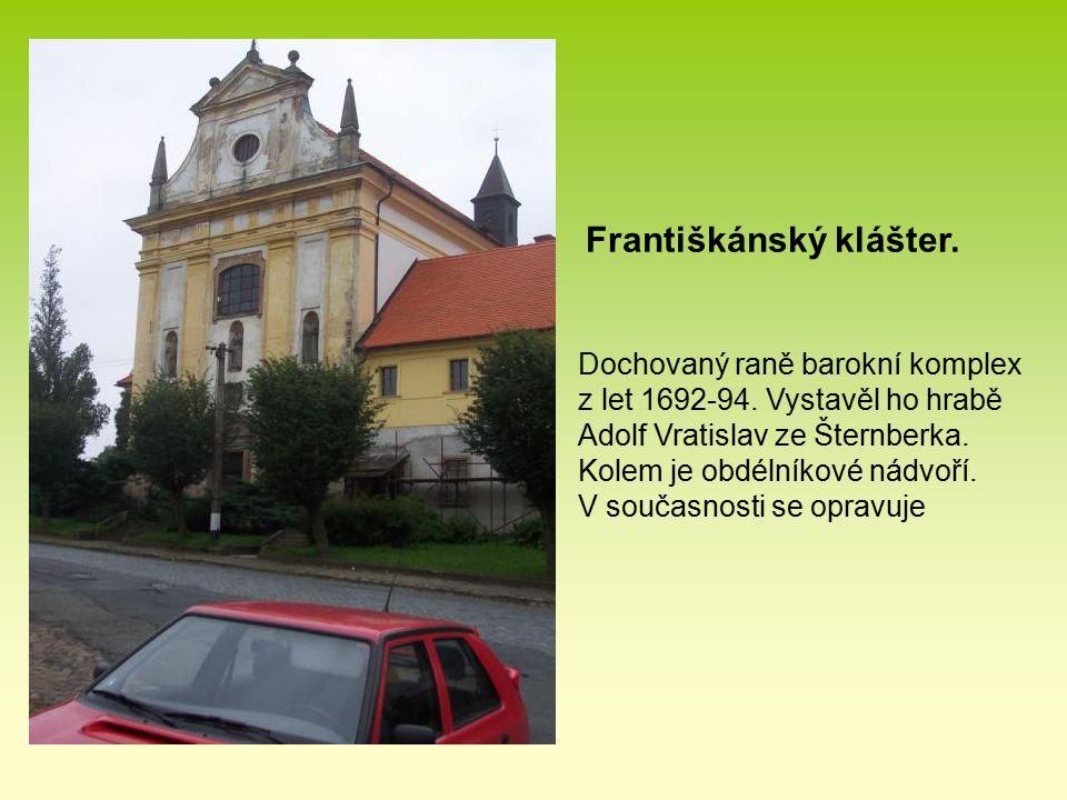 Františkánský klášter.