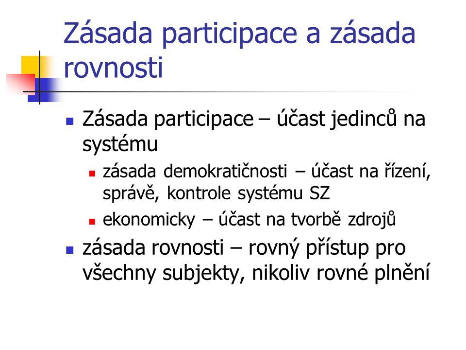 Zásada participace a zásada rovnosti