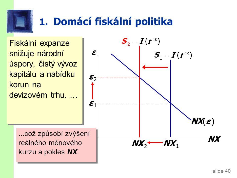 2. Fiskální politika v zahraničí
