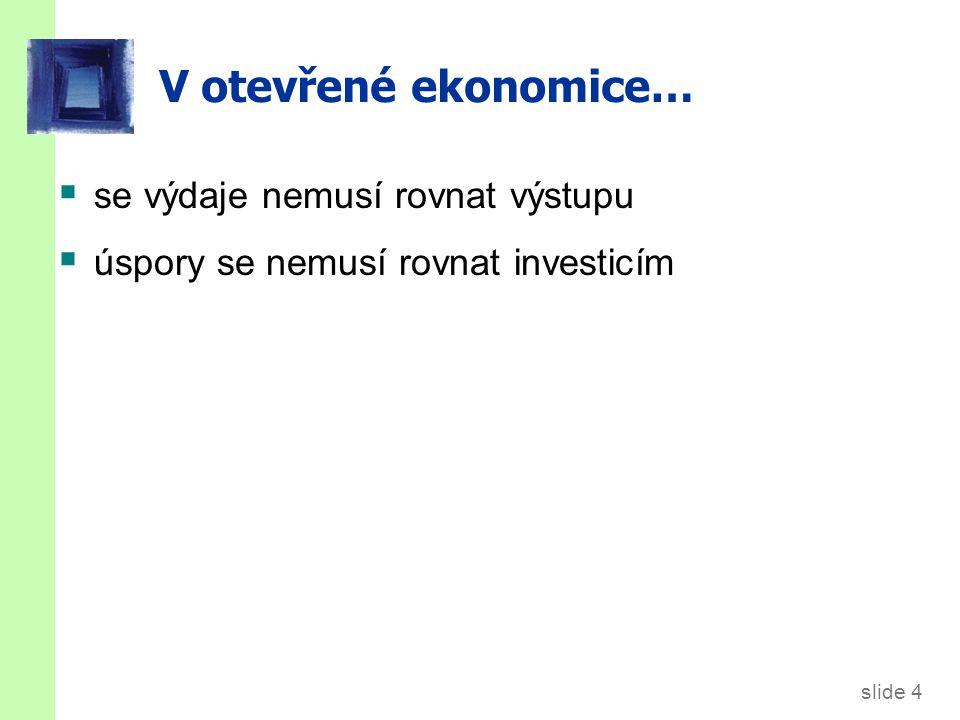 Značení EX = exporty = zahraniční výdaje na domácí zboží