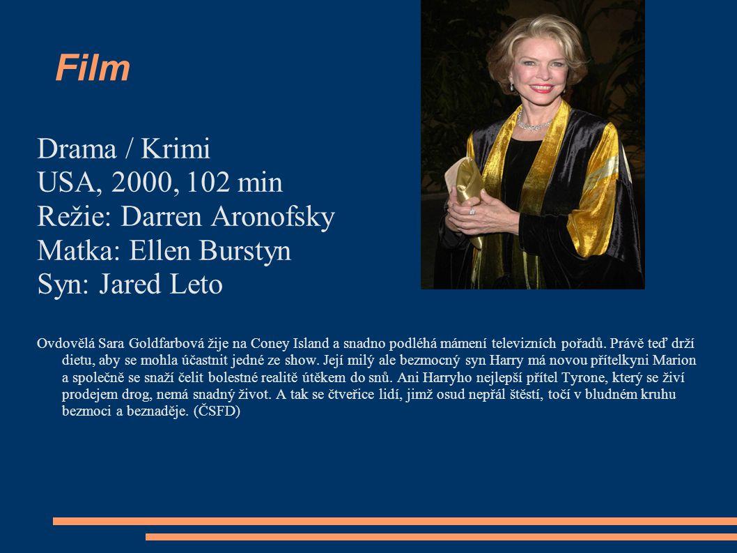 Film Drama / Krimi USA, 2000, 102 min Režie: Darren Aronofsky