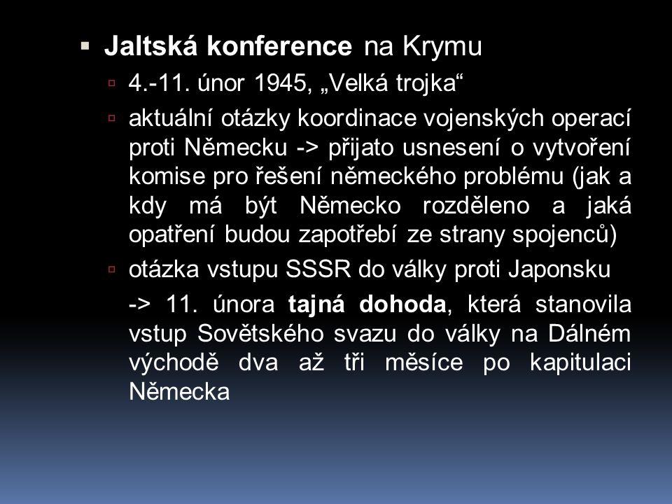 Jaltská konference na Krymu