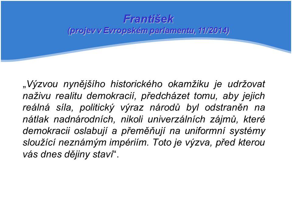 (projev v Evropském parlamentu, 11/2014)