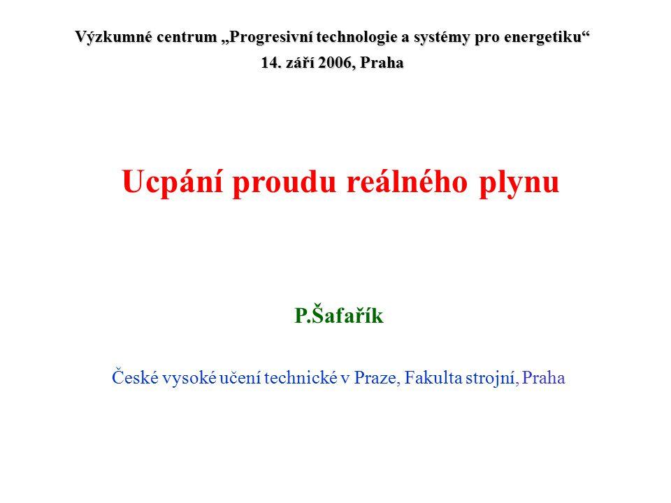 P.Šafařík České vysoké učení technické v Praze, Fakulta strojní, Praha