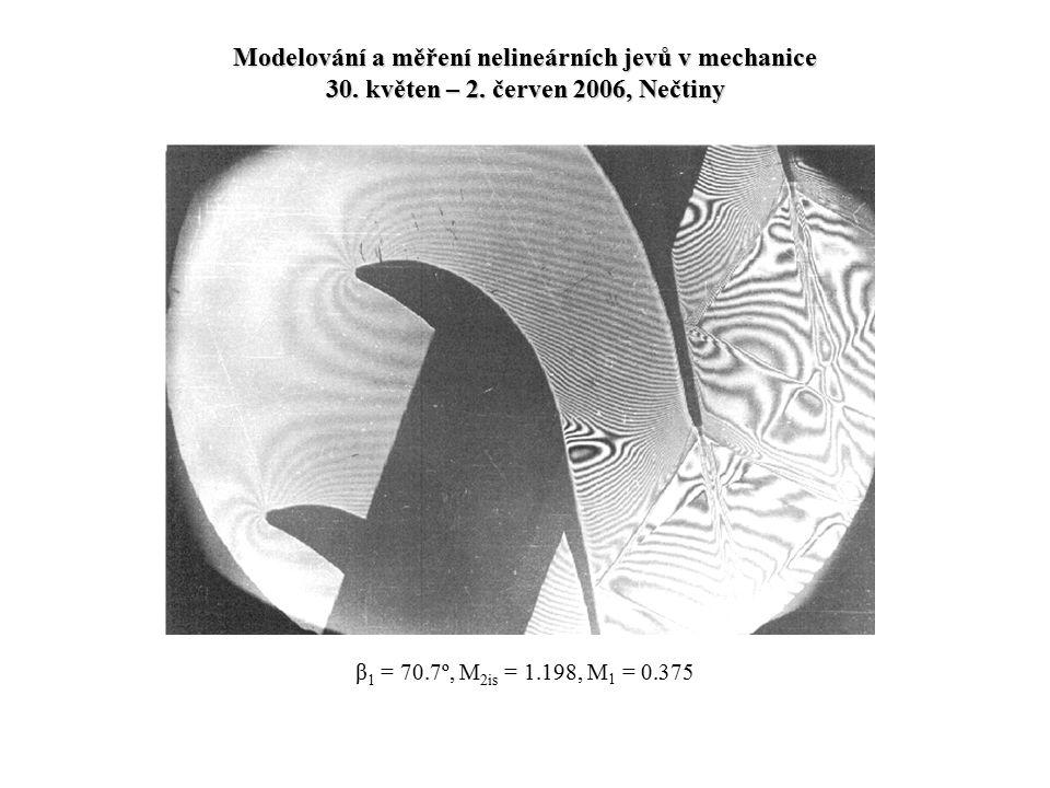 Modelování a měření nelineárních jevů v mechanice