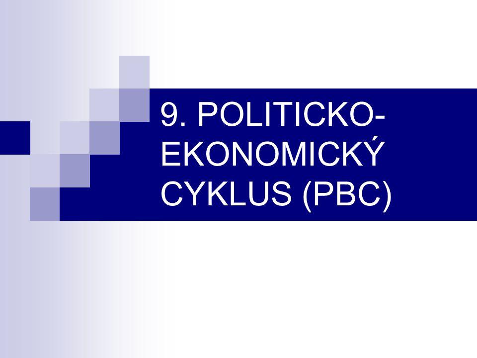 9. POLITICKO-EKONOMICKÝ CYKLUS (PBC)