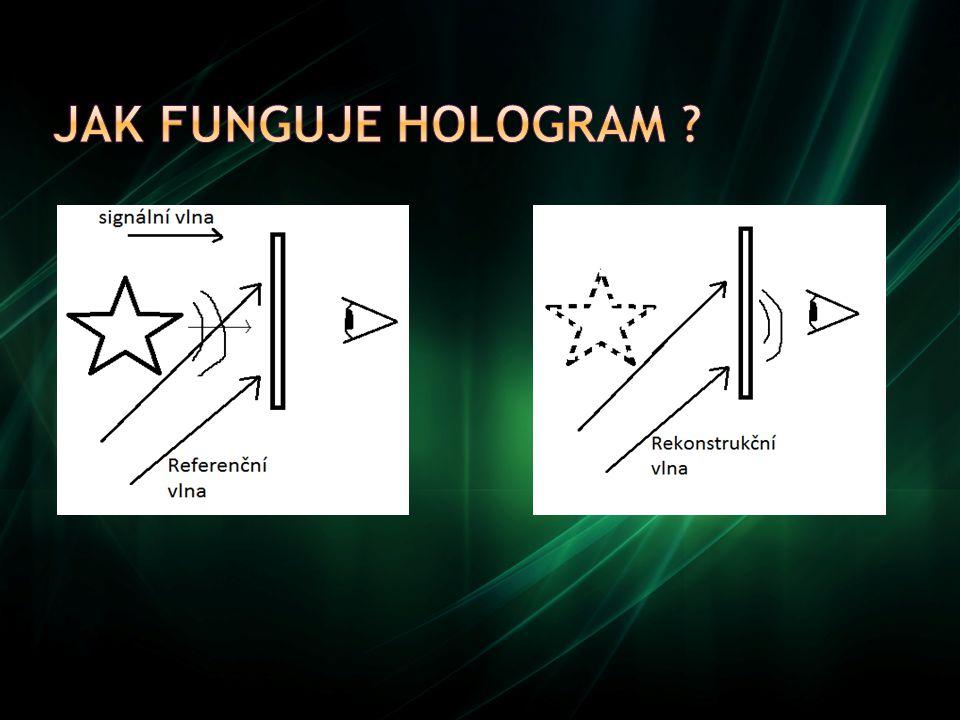 Jak funguje hologram