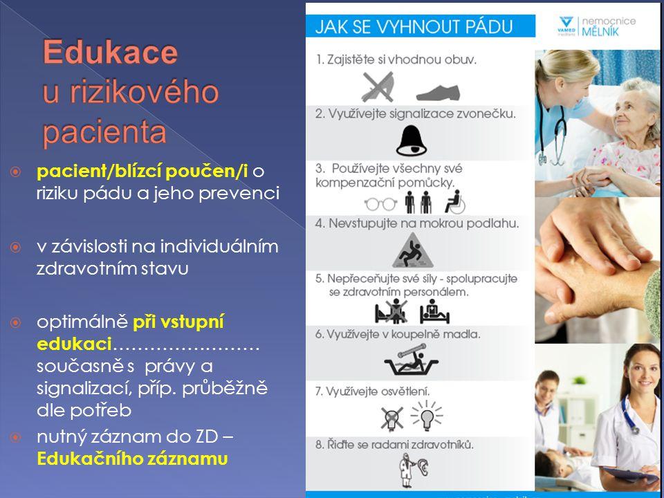 Edukace u rizikového pacienta