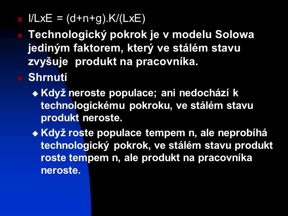 I/LxE = (d+n+g).K/(LxE)