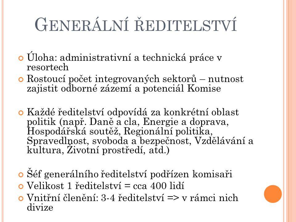 Generální ředitelství