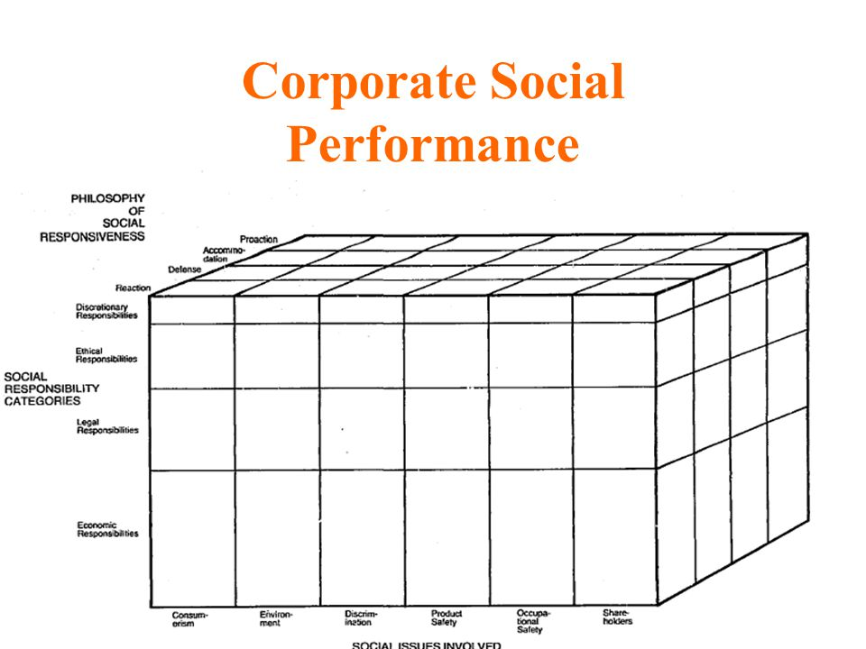Corporate Social Performance