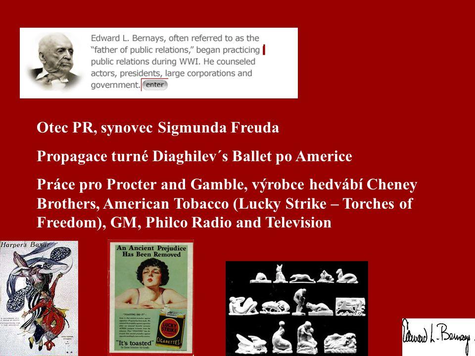 Otec PR, synovec Sigmunda Freuda