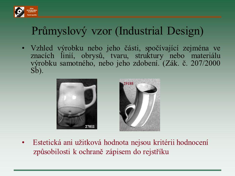 Průmyslový vzor (Industrial Design)