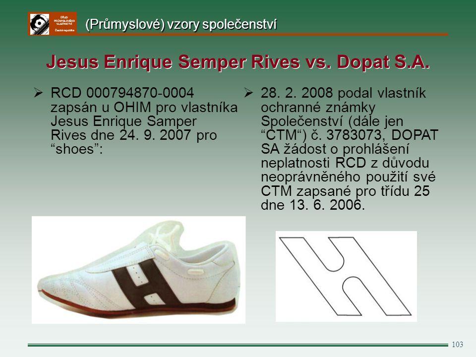 Jesus Enrique Semper Rives vs. Dopat S.A.