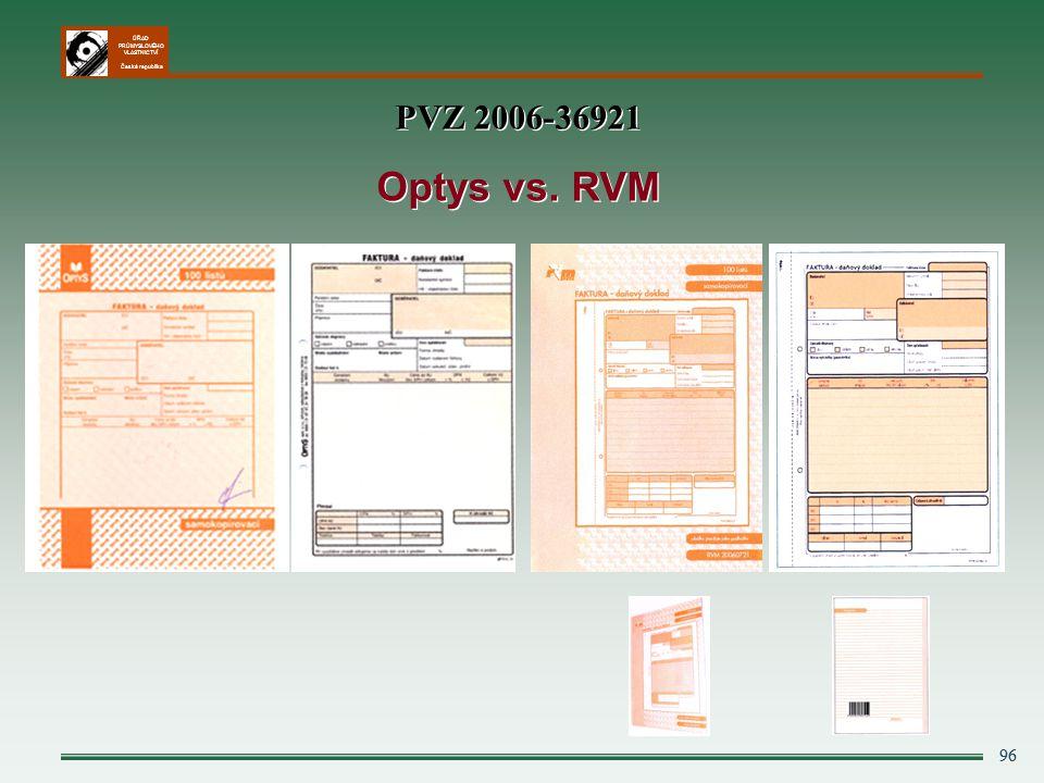 PVZ 2006-36921 Optys vs. RVM 96 96