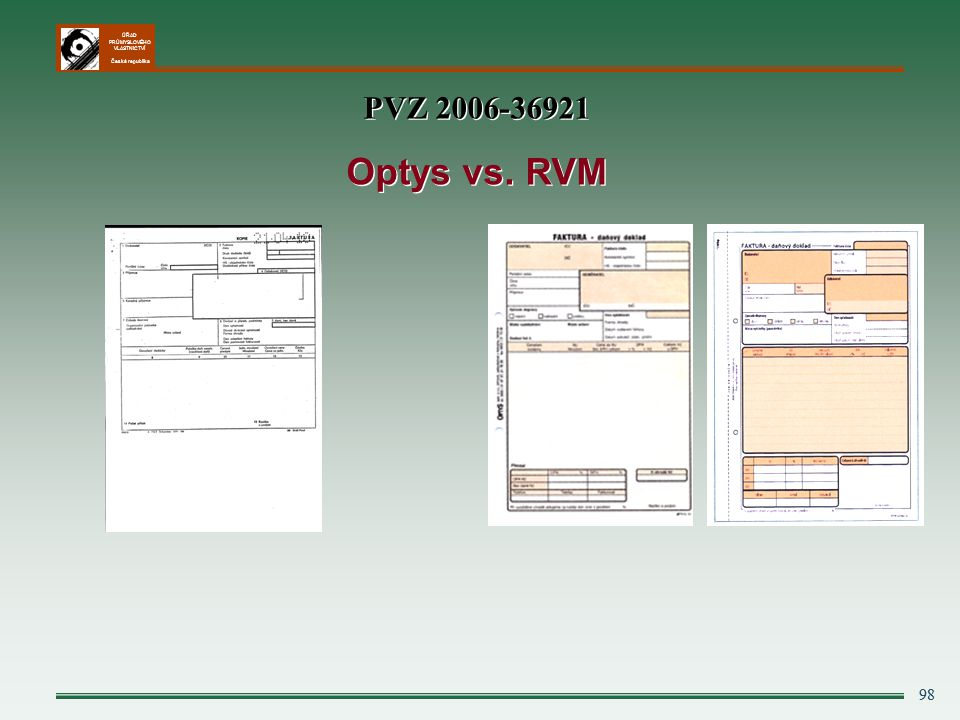PVZ 2006-36921 Optys vs. RVM 98 98