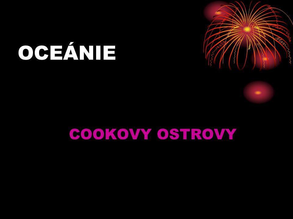 OCEÁNIE COOKOVY OSTROVY