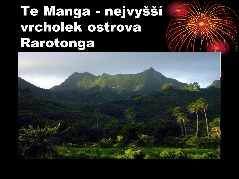 Te Manga - nejvyšší vrcholek ostrova Rarotonga
