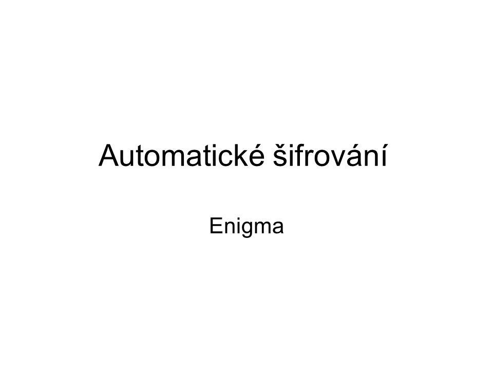 Automatické šifrování